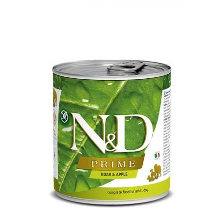 Farmina ND Dog Prime Jabalí comida húmeda para perros 6x285grs