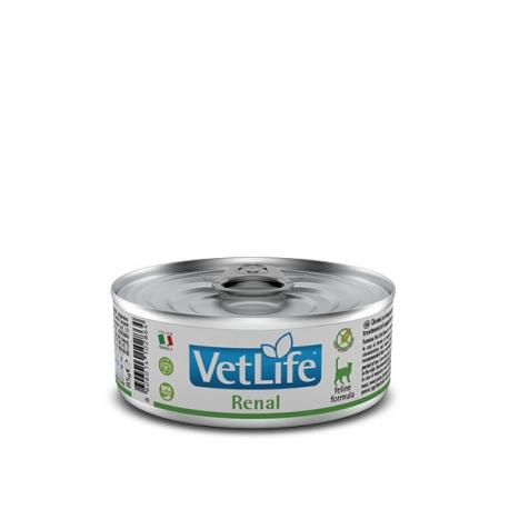 Farmina vet life cat renal caja 12x85grdieta húmeda para gatos