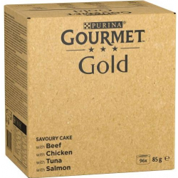 Gourmet Paté Multipack: Buey, Conejo, Cordero Y Ternera 96 unidades