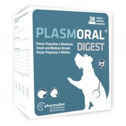 Plasmoral Digest nourriture complémentaire pour chiens 30 sachets