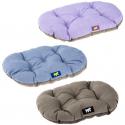Cama Relax perro y gato 100 12 Cushion Blue Lila Ferplast