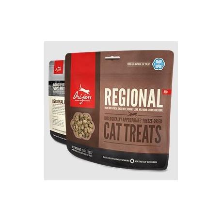 Orijen Regional red Cat Treats Snacks naturels pour chats 35gr