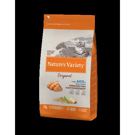 Nature's Variety pienso Original Sterilized Salmón