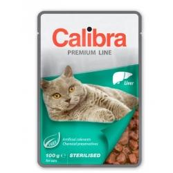 Calibra cat sterilised comida húmeda pouch higado