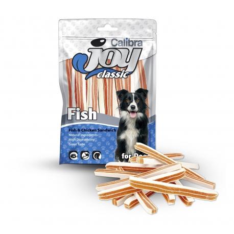 Calibra joy dog classic sandwich pescado pollo snack para perros