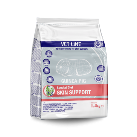 Cunipic VetLine dieta para cobayas Skin support