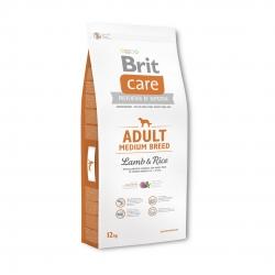 Brit care adult medium breed cordero arroz pienso para perros