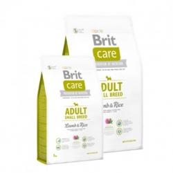 Brit care adult small breed cordero arroz pienso para perros