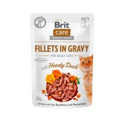 Brit care cat filetes en salsa con pollo latas para gato