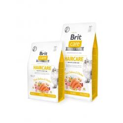 Brit care cat haircare healthy shiny coat pienso para gatos