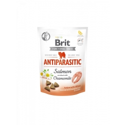 Brit care dog functional snack antiparasitic salmon