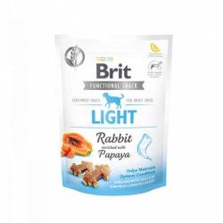 Brit care dog functional snack light conejo