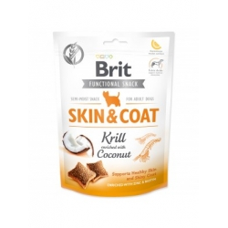Brit care dog functional snack piel pelo camaron