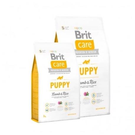 Brit care puppy all breed cordero arroz pienso para perros