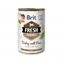 Brit fresh pavo guisantes latas para perro