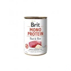 Brit mono protein ternera latas para perro