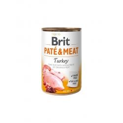 Brit pate meat pavo latas para perro
