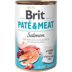 Brit pate meat salmon latas para perro