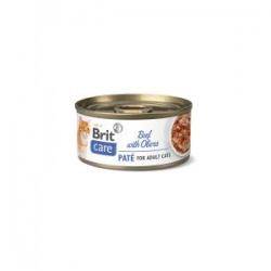 Brit care cat crâne veau et olives nourriture humide pour chat