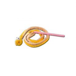 Serpent avec bâton et grelot (1)
