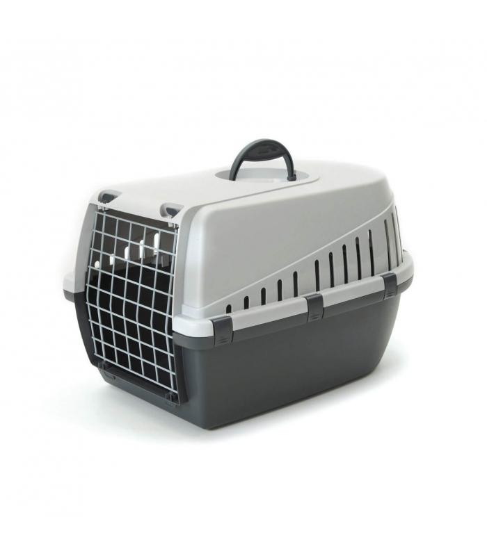 savic cage de transport trotter pour chien et ou chat couleur. Black Bedroom Furniture Sets. Home Design Ideas
