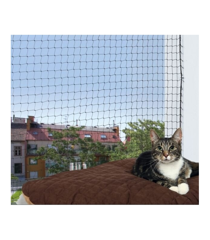 Trixie filet protecteur des fen tres pour chat - Protection fenetre chat ...