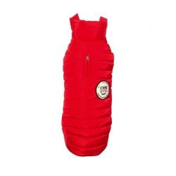 Manteau Strong Couleur Rouge pour Chien (1)