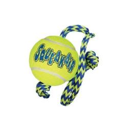 Balle Tennis avec Corde pour Chiens (1)